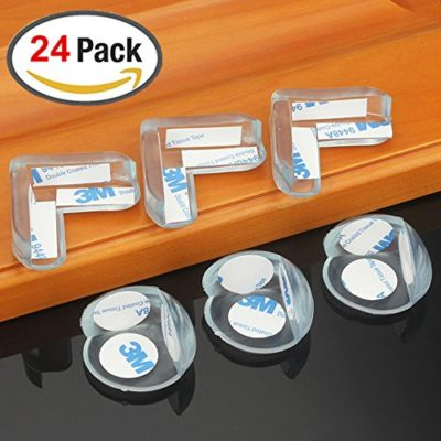 24-Packs-Baby-Safety-Edge-Corner-Guards-Edge-Safety-Bumpers-with-3M-Adhesive-L-Shaped-Ball-Shaped-0