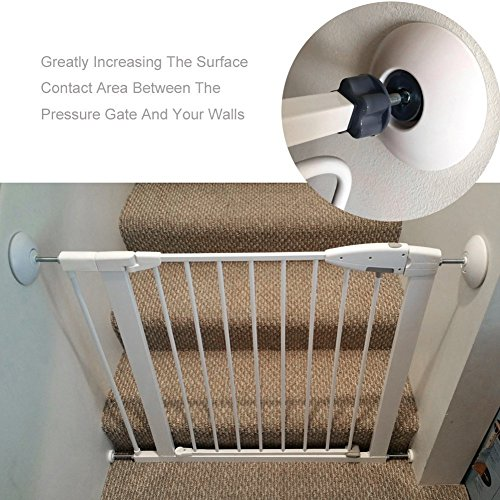 4 Pack Wall Cups For Baby Gates Wall Protection Guard