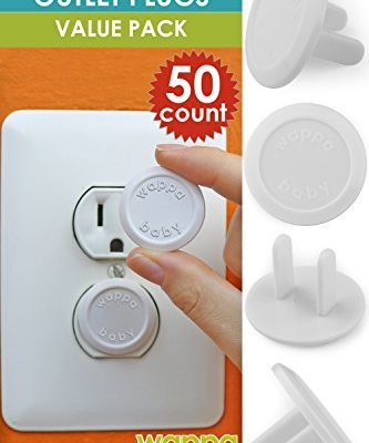 50-Count-Premium-Quality-Childproof-Outlet-Covers–VALUE-PACK–New-Improved-Baby-Safety-Plug-Covers–Durable-Steady–Pack-Of-50-Plugs-0