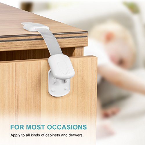 Adoric Baby Safety Locks Child Proof Cabinets Drawers