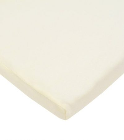 American Baby Company 100% Cotton Value Jersey Knit Bassinet Sheet, Ecru