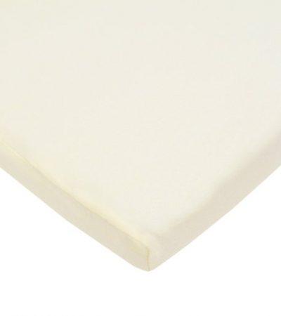 American Baby Company 100% Cotton Value Jersey Knit Bassinet Sheet, Ecru