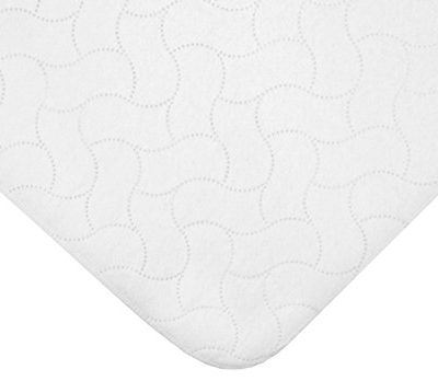 American-Baby-Company-Waterproof-Flat-Multi-Use-Protective-Pad-Cover-White-0