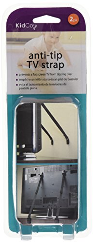 Anti-tip TV Strap, 2 Count