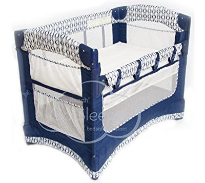 Arms-Reach-Concepts-Ideal-Ezee-3-in-1-Bedside-Bassinet-Crescent-0