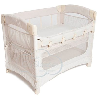 Arms-Reach-Concepts-Ideal-Ezee-3-in-1-Bedside-Bassinet-Natural-0