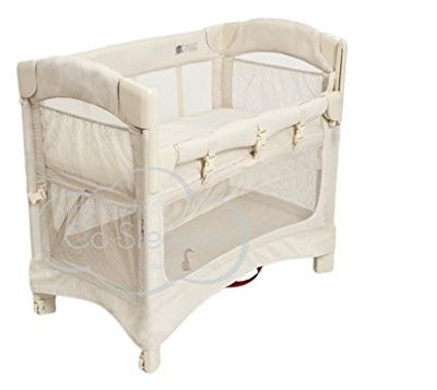 Arms-Reach-Concepts-Mini-Ezee-2-in-1-Bedside-Bassinet-Natural-0
