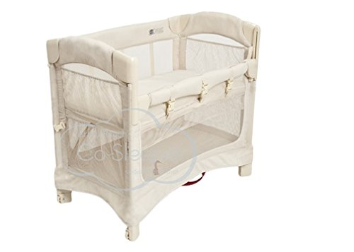 Arm's Reach Concepts Mini Ezee 2-in-1 Bedside Bassinet - Natural