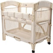 Arm's Reach Mini Arc Co-Sleeper Bedside Bassinet, Natural