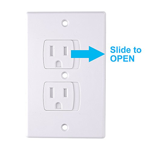 Austor Baby Safety Self Closing Electrical Outlet Covers