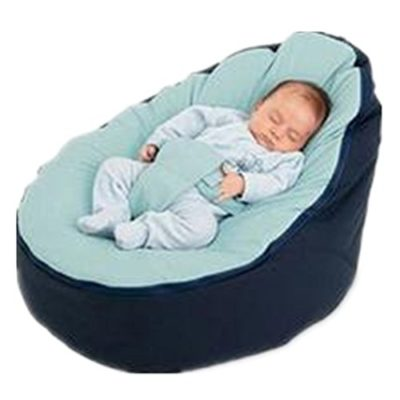BAOJUN-Portable-baby-feeding-lazy-sofa-baby-cradle-bed-removable-pickan-bag-seat-comfortable-green-small-bed-0