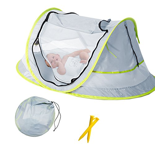 Baby Beach Tent Portable Baby Travel Bed ...  sc 1 st  Baby Cribbed & Baby Beach Tent Portable Baby Travel Bed UPF 50+ Sun Shelters for ...
