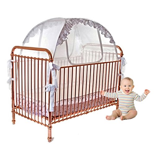 Baby Crib Tent Safety Net Pop Up Canopy ...  sc 1 st  Baby Cribbed & Baby Crib Tent Safety Net Pop Up Canopy Cover - Never Recalled ...