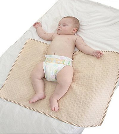 Baby Diaper Changing Pad,Urine Pee Pads / Mat,Waterproof,Breathable,Absorbent,Ultra Soft,Reusable Fit Pack N Play Bed/Bedding/Crib Mattress Pad Sheet Protector Bedwetting & Incontinence Underpad (L)