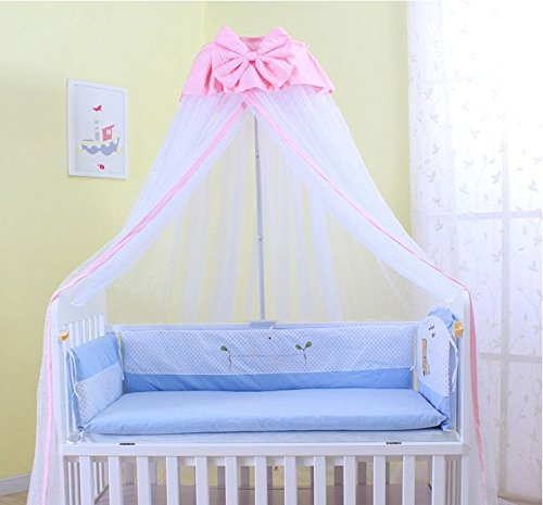 Baby Mosquito Net Baby Toddler Bed Crib Dome Canopy ... & Baby Mosquito Net Baby Toddler Bed Crib Dome Canopy Netting ...
