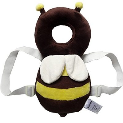 Baby-Protector-ProttyLife-Baby-Ajustable-Head-Shoulder-Safety-Pad-Baby-head-protection-pad-kids-learn-to-walk-anti-crash-pillow-tollder-headrest-infant-neck-cute-wings-nursing-safety-cushion-L-Bee-0