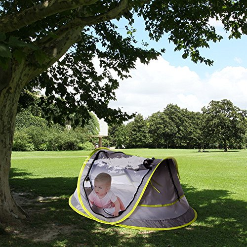Baby ... & Baby Travel Bed Portable baby beach tent UPF 50+ Sun Shelter ...