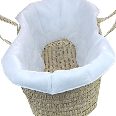 BabyPrem-Baby-Moses-Basket-Quilted-Liner-for-Comfort-and-protection-73-78-x-28cm-0