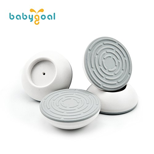 Babygoal Wall Guards ,4 pack Gate Wall Guard for Baby Gate Pressure Mount, Wall Guard Cups, Wall Guard Pads Perfect for Child / Pet Pressure Safety Gates WGF01