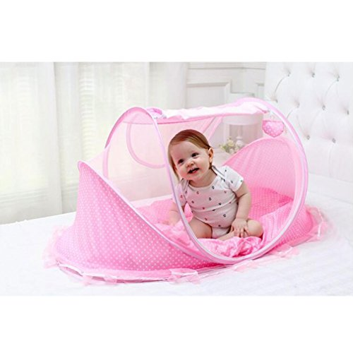 Bersun Travel Crib Baby Tent Baby Bed Instant Pop Up ...  sc 1 st  Baby Cribbed & Bersun Travel Crib Baby Tent Baby Bed Instant Pop Up Portable ...