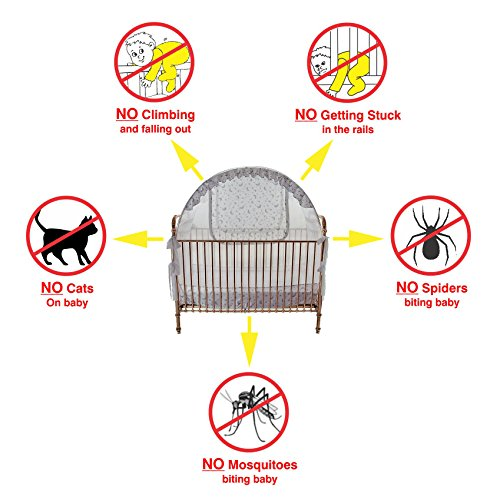 Best Baby Crib Safety Net Tent ...  sc 1 st  Baby Cribbed & Best Baby Crib Safety Net Tent - Tried and Tested - Safe and ...
