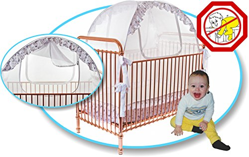 Sale!  sc 1 st  Baby Cribbed & Nuby Baby Playpen Netting Universal Size White Pack N Play ...