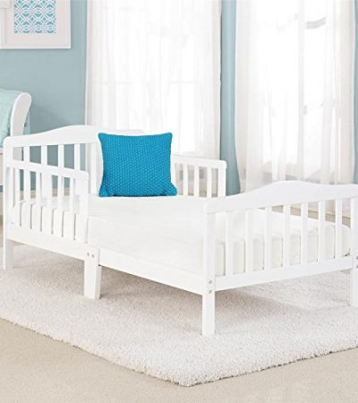 Big Oshi Contemporary Design Toddler & Kids Bed - White