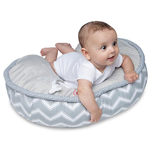 Boppy Nursing Pillow And Positioner Luxe Chevron Whales