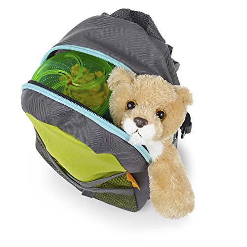 Brica By My Side Safety Harness Backpack Green Blue