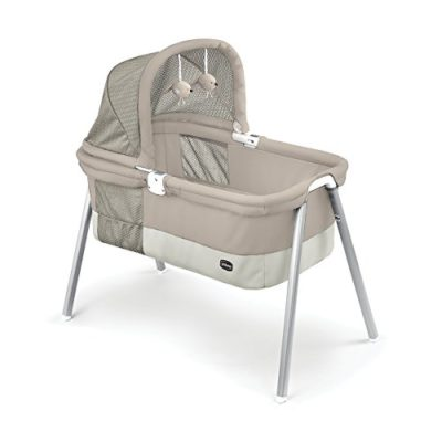 Chicco-LullaGo-Deluxe-Bassinet-Taupe-0