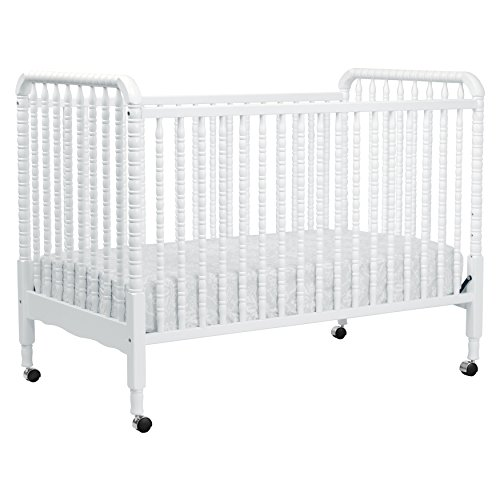 DaVinci Jenny Lind 3-in-1 Convertible Crib, White