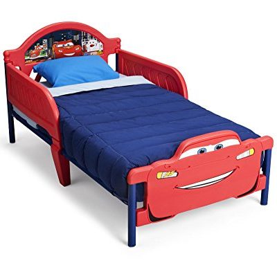 Delta-Children-3D-Footboard-Toddler-Bed-DisneyPixar-Cars-0