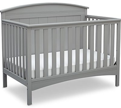 Delta-Children-Archer-4-in-1-Crib-Grey-0
