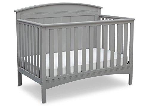 Delta Children Archer 4-in-1 Crib, Grey