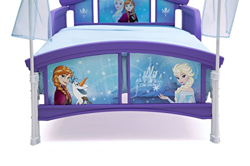 Delta Children Canopy Toddler Bed Disney Frozen  sc 1 st  Baby Cribbed & Delta Children Canopy Toddler Bed Disney Frozen - Baby Cribbed