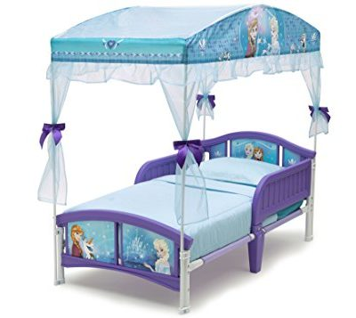 Delta-Children-Canopy-Toddler-Bed-Disney-Frozen-0