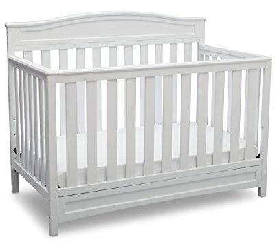 Delta-Children-Emery-4-in-1-Crib-White-0