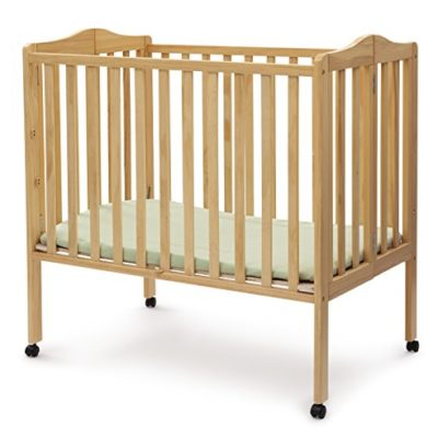 Delta-Children-Portable-Mini-Crib-Natural-0