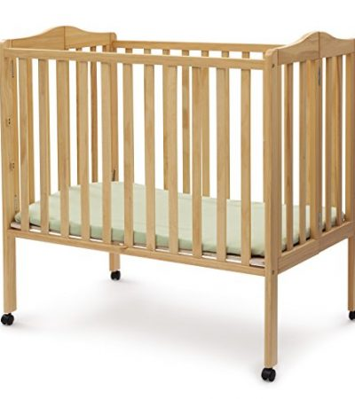 Delta Children Portable Mini Crib, Natural