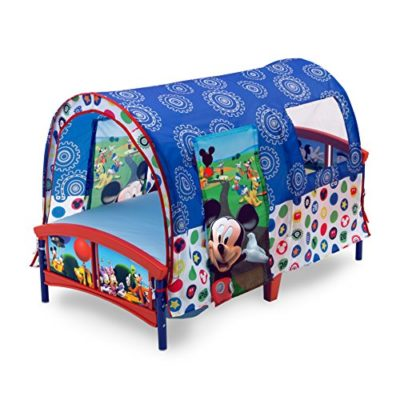 Delta-Children-Toddler-Tent-Bed-Disney-Mickey-Mouse-0