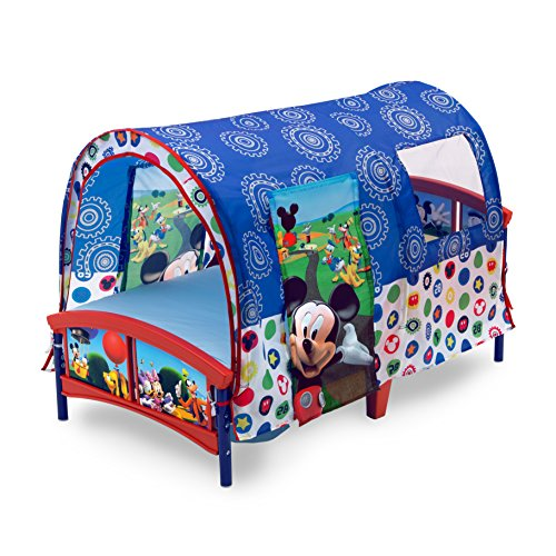 Delta Children Toddler Tent Bed Disney Mickey Mouse  sc 1 st  Baby Cribbed : mickey play tent - memphite.com