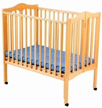 Delta Fold Away 3-in-1 Portable Crib - Natural by Delta Children