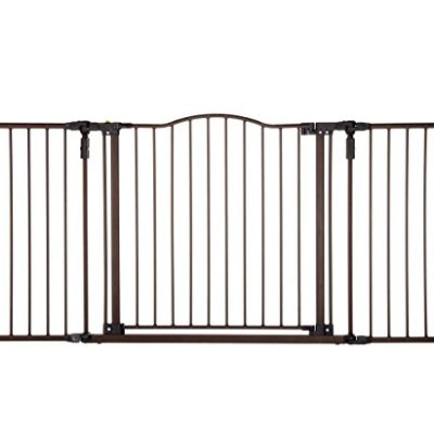 Deluxe-Dcor-Gate-Bronze-Fits-Spaces-between-383-to-72-Wide-and-30high-0