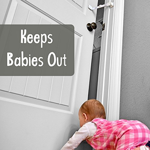 Door-Buddy-Child-Door-Lock-and-Foam-Baby-Door-Stopper-Baby-Proofing-Doors-Made-Simple-with-Easy-to-Use-Hook-and-Latch-Keep-Baby-Out-Prevent-Finger-Pinch- ...  sc 1 st  Baby Cribbed & Door-Buddy-Child-Door-Lock-and-Foam-Baby-Door-Stopper-Baby-Proofing ...