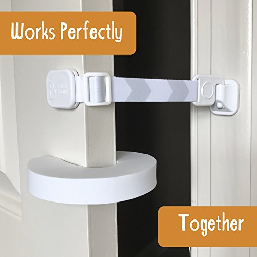 Door Buddy Child ... & Door Buddy Child Door Lock and Foam Baby Door Stopper. Baby Proofing ...