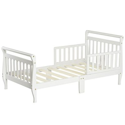 Dream-On-Me-Classic-Sleigh-Toddler-Bed-White-0