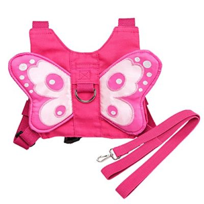 EPLAZA-Baby-Toddler-Walking-Safety-Butterfly-Belt-Harness-with-Leash-Child-Kid-Assistant-Strap-a-0