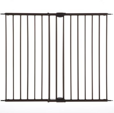 Easy-Swing-Lock-Gate-Bronze-Fits-Spaces-between-2868-to-4785-Wide-and-31high-0