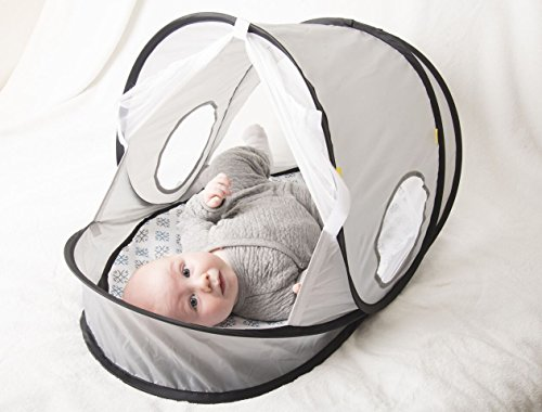 EquiptBaby Portable Collapsible Bassinet for Babies & Families On The Move