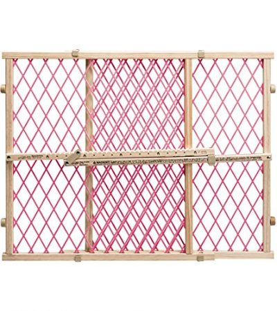 Evenflo Position and Lock Doorway Gate, Pink